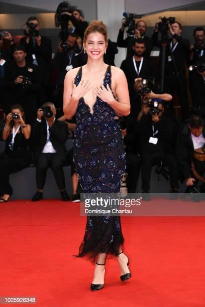Barbara Pelvin walks the red carpet ahead of the 'Suspiria' screening during the 75th Venice Film Festival at Sala Grande on September 1 2018 in...