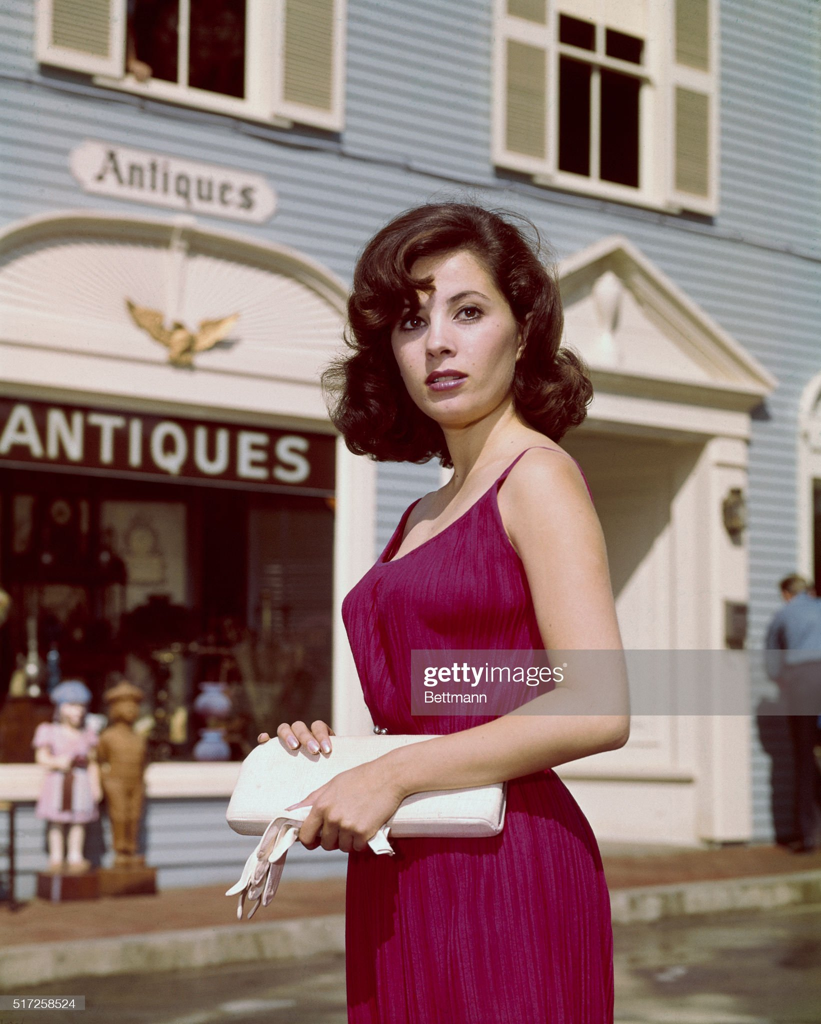 Portrait of Barbara Perkins in Peyton Place : News Photo