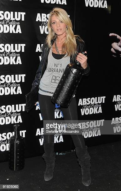 Barbara Petrillo attends Absolut Rock Edition Party with Skin at the Hollywood Discoteque on October 15 2009 in Milan Italy