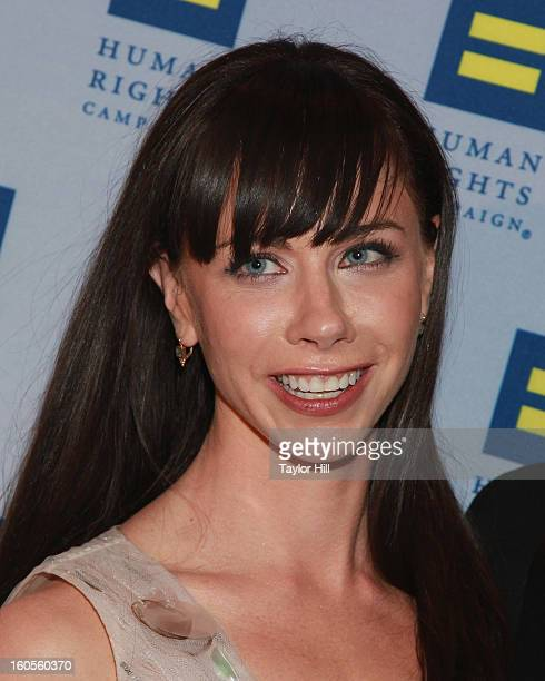 Barbara Pierce Bush and HRC President Chad Griffin attend The 2013 Greater New York Human Rights Campaign Gala at The Waldorf=Astoria on February 2...