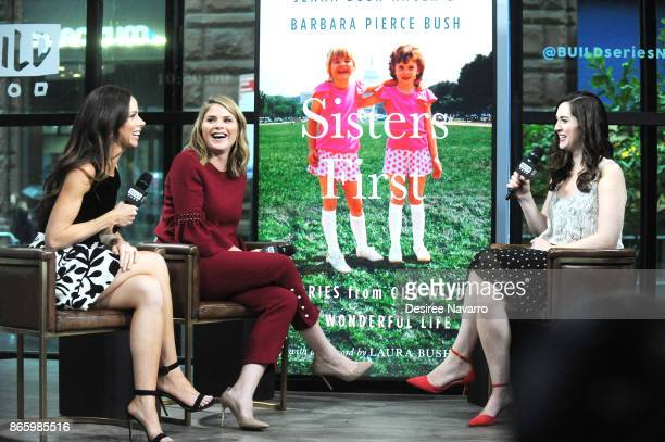 Barbara Pierce Bush and Jenna Bush Hager visit Build to discuss their book 'Sisters First Stories from Our Wild and Wonderful Life' at Build Studio...