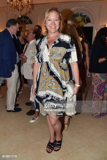 Barbara Poliwoda attends Katrina and Don Peebles Host NY Mission Society Summer Cocktails at Private Residence on July 7 2017 in Bridgehampton New...