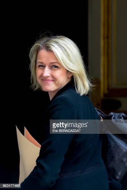 Barbara Pompili Secrétaire dÉtat auprès de la ministre de lEnvironnement de lÉnergie et de la Mer chargée des Relations internationales sur le climat...
