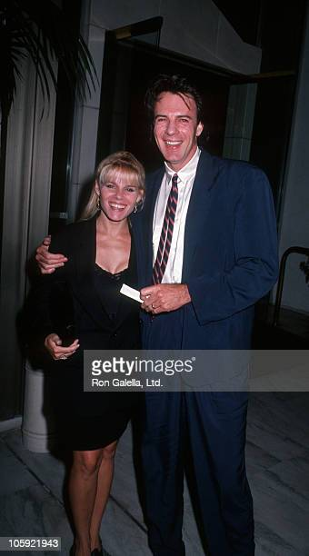 Barbara Porter and Rick Springfield during ABC Fall Season Party September 11 1991 at Century Plaza Hotel in Los Angeles California United States