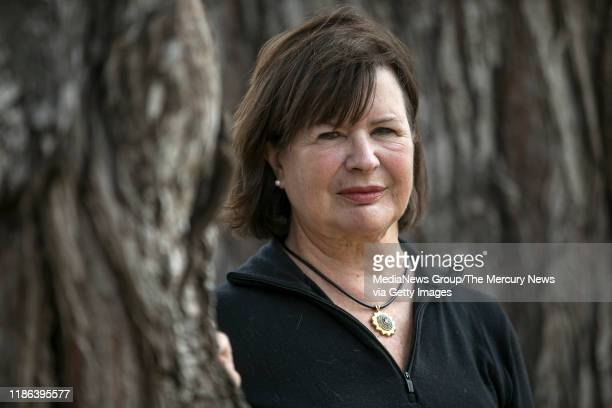 Barbara RaeVenter a retired intellectual property attorney and genealogist who helped crack the Golden State Killer case poses for a portrait near...