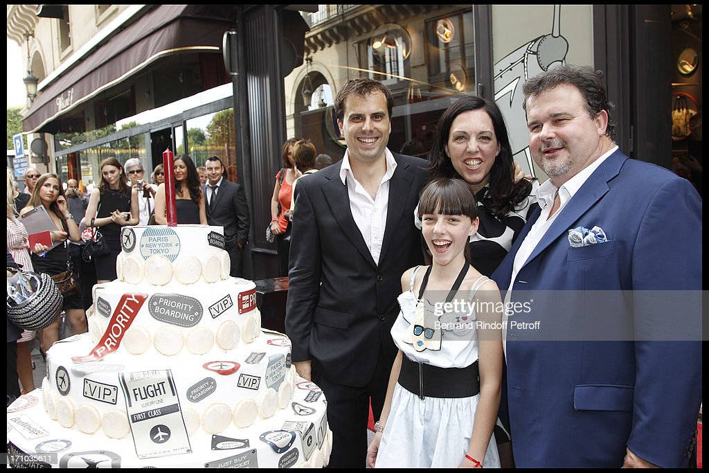 Inauguration Of First Boutique 'Barbara Rhil' In Paris : News Photo