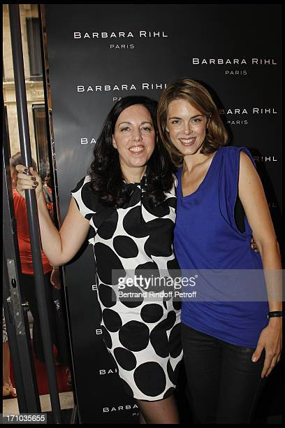 Barbara Rhil Julie Andrieu at Inauguration Of First Boutique Barbara Rhil In Paris