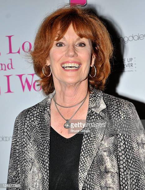 Barbara Rhoades attends the Love Loss And What I Wore two year celebration at B Smith's Restaurant on October 6 2011 in New York City