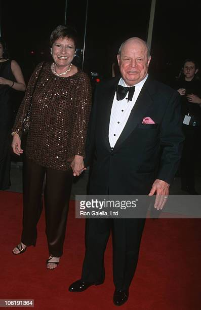 Barbara Rickles and Don Rickles during AFI Salute to Barbra Streisand at Beverly Hilton Hotel in Beverly Hills California United States