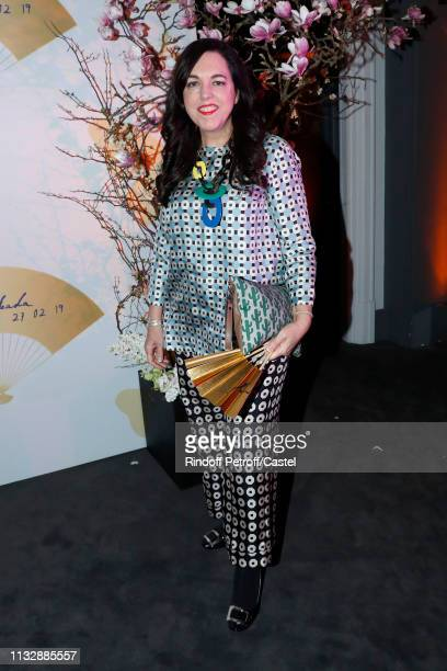 Barbara Riel attends the 80th Kenzo Takada Birthday Party at Pavillon Ledoyen on February 28 2019 in Paris France