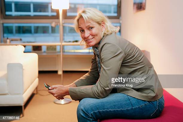 Barbara Rittner attends the STERN And CAPITAL Summer Party on June 16 2015 in Berlin Germany
