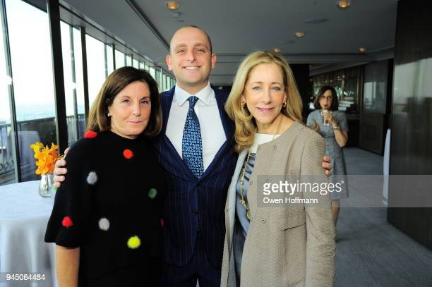 Barbara Rothschild David Rothschild and Renee Steinberg attends AFIM Spring Luncheon with Ai Weiwei on April 11 2018 in New York City
