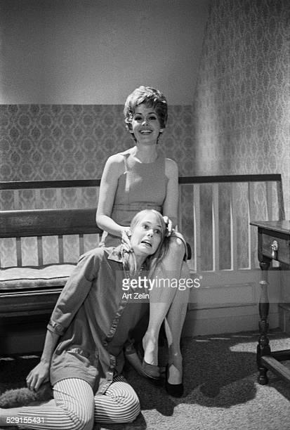 Barbara Rush and Tippy Walker of Peyton Place New York