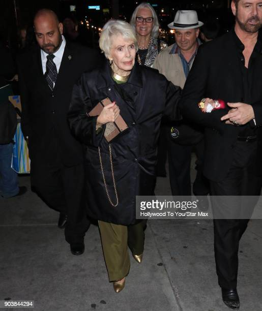 Barbara Rush is seen on January 10 2018 in Los Angeles CA