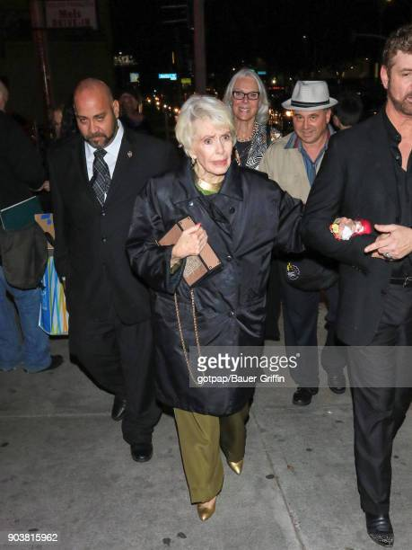 Barbara Rush is seen on January 10 2018 in Los Angeles California