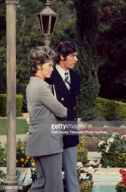 Barbara Rush Stephen Boyd appearing in the Walt Disney Television via Getty Images tv movie 'Of Men and Women'