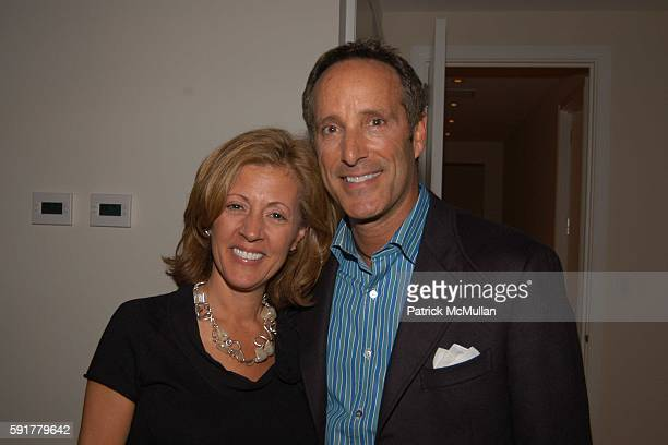 Barbara Russo and Richard Steinberg attend A Taste Of Things To Come party hosted by Louise M Sunshine and Barbara Russo to celebrate the Grand...