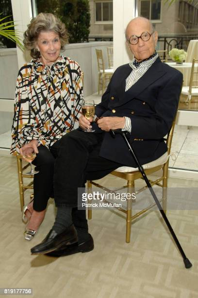 Barbara Sahlman and Ira Sahlman attend Susan FalesHill's ONE FLIGHT UP Book Launch Party at 15 Central Park West on July 21st 2010 in New York City