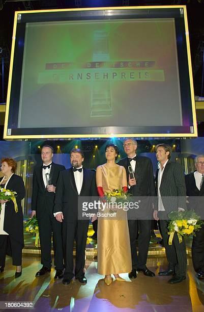"""Barbara Salesch, Oliver Welke, Jürgen von der Lippe, Maybrit Illner, Harald Schmidt, Sasha, , SAT1-Show """"Verleihung Deutscher Fernsehpreis"""", Köln,..."""