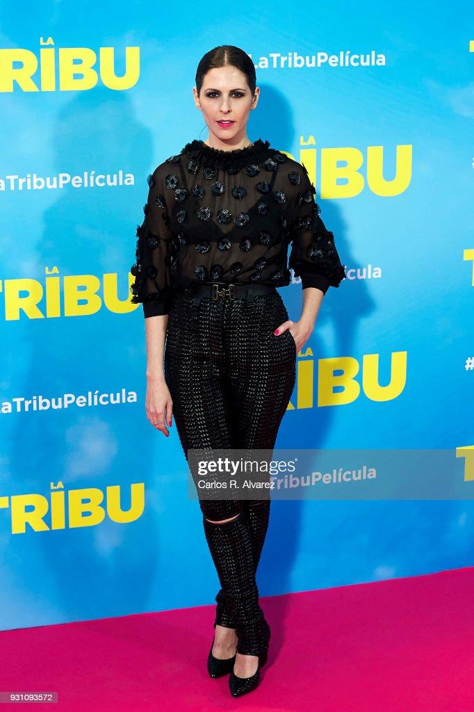 Barbara Santa-Cruz attends 'La Tribu' premiere at the Capitol cinema on March 12, 2018 in Madrid, Spain.