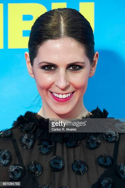 Barbara SantaCruz attends 'La Tribu' premiere at the Capitol cinema on March 12 2018 in Madrid Spain