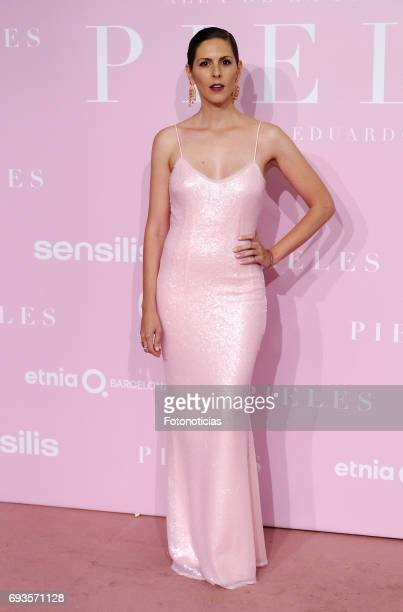 Barbara Santacruz attends the 'Pieles' premiere pink carpet at Capitol cinema on June 7 2017 in Madrid Spain