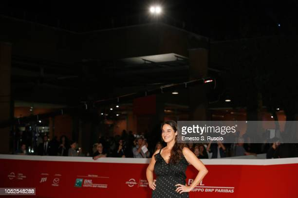 Barbara SarasolaDay walks the red carpet ahead of the 'Sangre Blanca' screening during the 13th Rome Film Fest at Auditorium Parco Della Musica on...