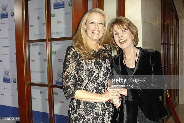 Barbara Schöneberger and Dr Christa Maar at the 10th Anniversary Of The Felix Burda Award at Hotel Adlon in Berlin