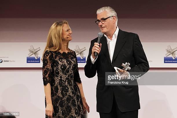 Barbara Schöneberger And Sky Du Mont In Ceremony Of The Felix Burda Award Hotel Adlon in Berlin