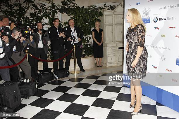 Barbara Schöneberger at the 10th Anniversary Of The Felix Burda Award at Hotel Adlon in Berlin