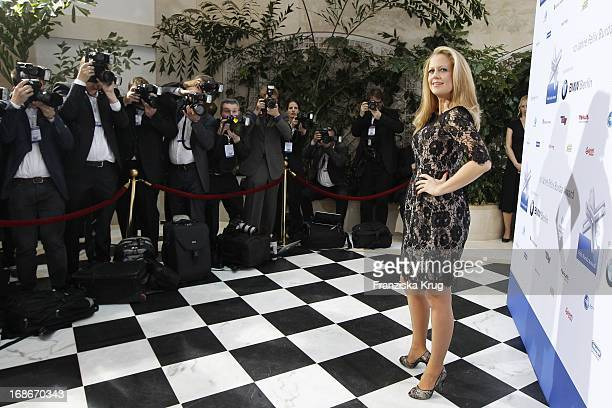 Barbara Schöneberger at the 10th Anniversary Of The Felix Burda Award at Hotel Adlon in Berlin