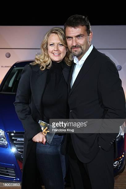 Barbara Schöneberger und Freund Mathias Krahl Beim Vw Empfang Nach Dem B Streisand Konzert Im Dorset Haus In Berlin