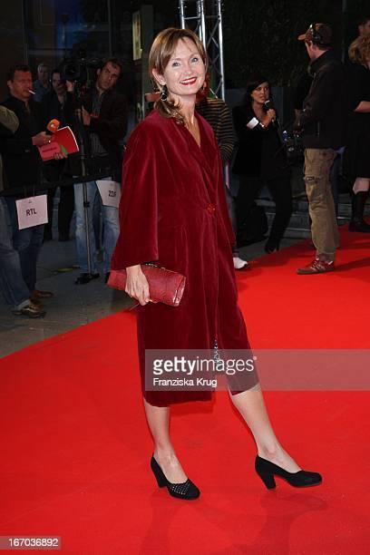 """Barbara Schnitzler Bei Der Ankunft Zur Verleihung Des """"First Steps Award"""" Am 280807 In Berlin ."""