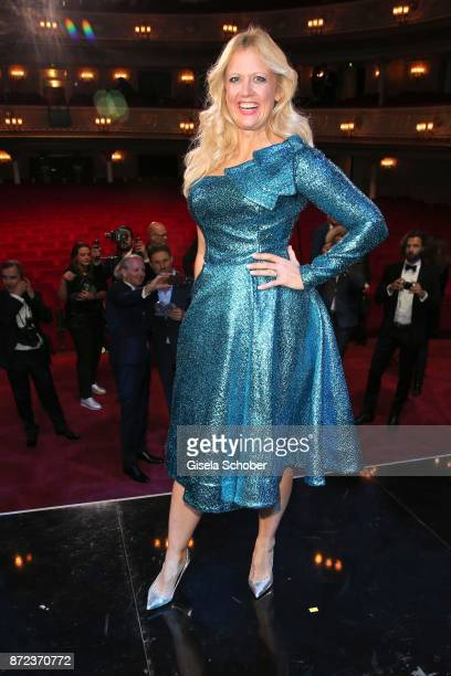 Barbara Schoenberger during the show of the GQ Men of the year Award 2017 at Komische Oper on November 9 2017 in Berlin Germany