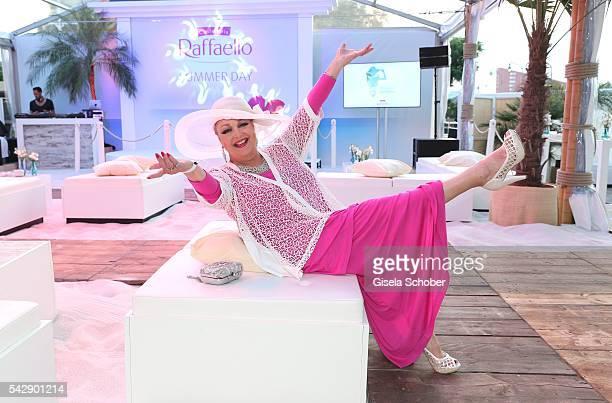 Barbara Schoene during the Raffaello Summer Day 2016 to celebrate the 26th anniversary of Raffaello on June 24 2016 in Berlin Germany