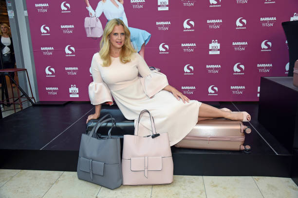 DEU: Barbara Schoeneberger X TITAN Luggage Collection Launch In Buxtehude