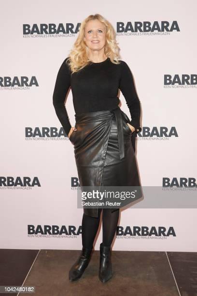 Barbara Schoeneberger attends BARBARA Meet Greet in Berlin at Bikini on September 28 2018 in Berlin Germany
