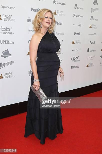 Barbara Schoeneberger attends for the 'Goldene Henne' 2012 award on September 19 2012 in Berlin Germany