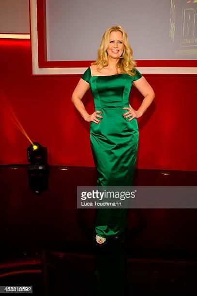 Barbara Schoeneberger attends 'Goldenes Lenkrad' Award 2014 at Axel Springer Haus on November 11 2014 in Berlin Germany