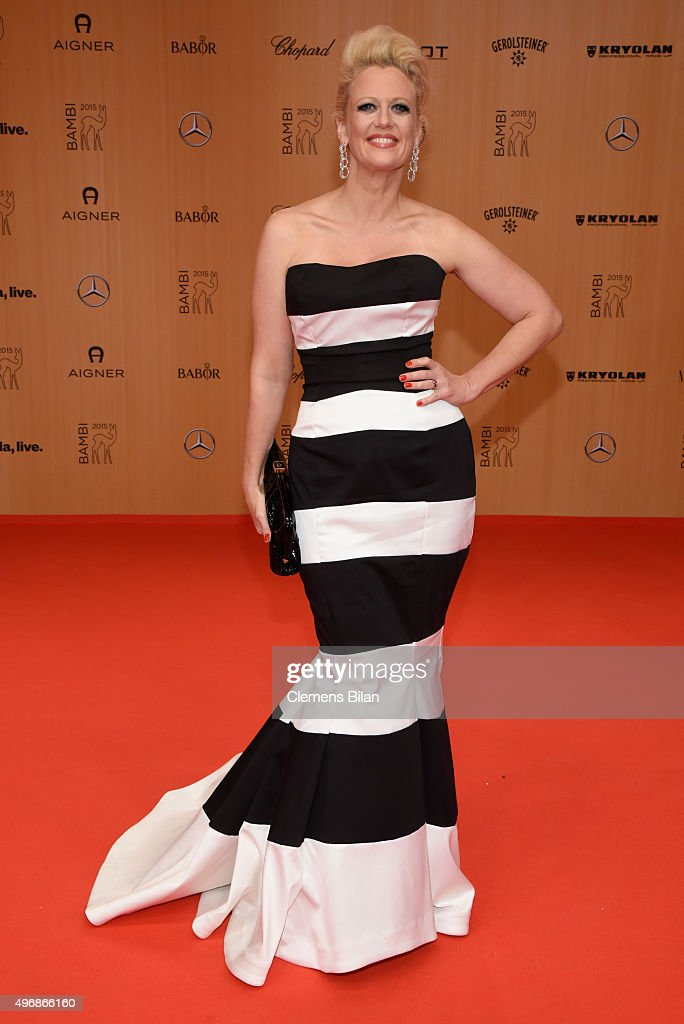 BABOR At Bambi Awards 2015 - Red Carpet Arrivals