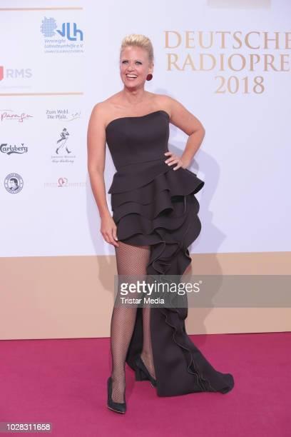 Barbara Schoeneberger attends the Deutscher Radiopreis at Schuppen 52 on September 6 2018 in Hamburg Germany