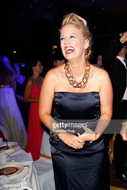 Barbara Schoeneberger attends the Dreamball 2013 charity gala at Ritz Carlton on September 12 2013 in Berlin Germany