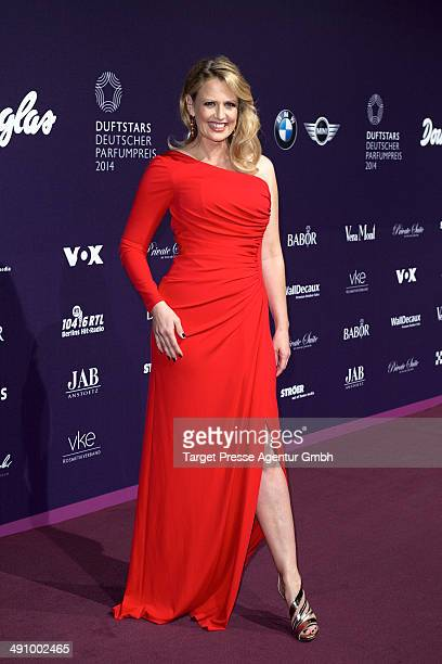 Barbara Schoeneberger attends the Duftstars Awards 2014 at arena Berlin on May 15 2014 in Berlin Germany