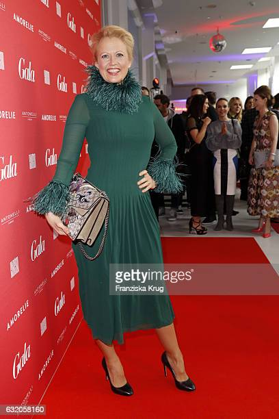 Barbara Schoeneberger attends the 'Gala' fashion brunch during the MercedesBenz Fashion Week Berlin A/W 2017 at Ellington Hotel on January 19 2017 in...