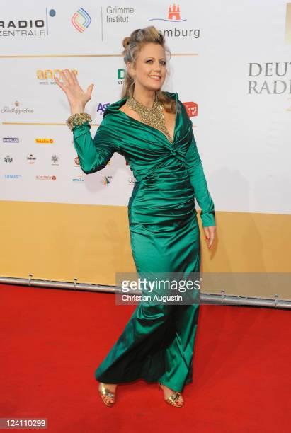 Barbara Schoeneberger attends the German Radio Award 2011 on September 8 2011 in Hamburg Germany