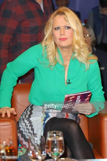 Barbara Schoeneberger during the NDR Talk Show on February 2 2018 in Hamburg Germany