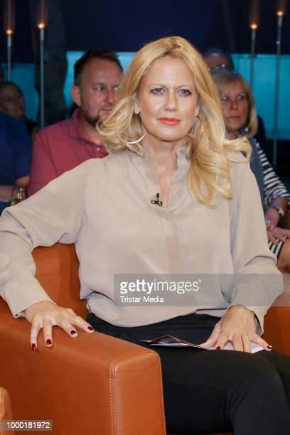 Barbara Schoeneberger during the NDR talk show on June 15 2018 in Hamburg Germany