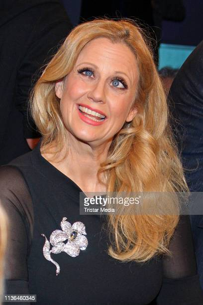 Barbara Schoeneberger during the NDR Talk Show on March 15 2019 in Hamburg Germany