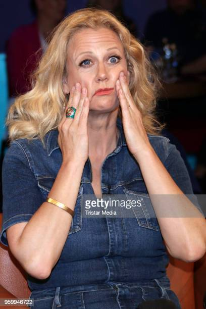 Barbara Schoeneberger during the NDR Talk Show on May 18 2018 in Hamburg Germany