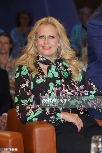 Barbara Schoeneberger during the NDR Talk show on May 24 2019 in Hamburg Germany